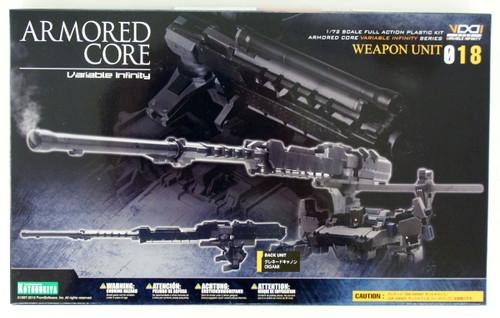 Kotobukiya Armored Core AW018 Weapon Unit 018 OIGAMI 1/72 Scale Kit