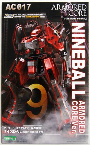 Kotobukiya VI069 Armored Core Nineball Armored Core Ver. 1/72 Scale Kit