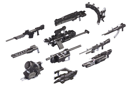 Kotobukiya VI078 Armored Core ACV V.I. Weapon Set 1/72 Scale Kit