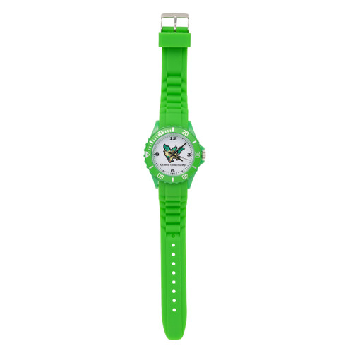 Pokemon Center Original Wrist Watch EEVEE DOT COLLECTION Leafeon