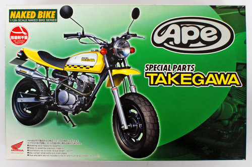 Aoshima Naked Bike 59 48993 Honda APE Takegawa Custom Version 1/12 Scale Kit