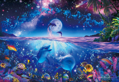 Epoch Jigsaw Puzzle 28-325 Lassen Glowing Puzzle Wish Upon a Star (300 Pieces)