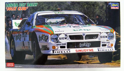 Hasegawa 20399 Lancia 037 Rally 'Jolly Club' 1/24 scale kit