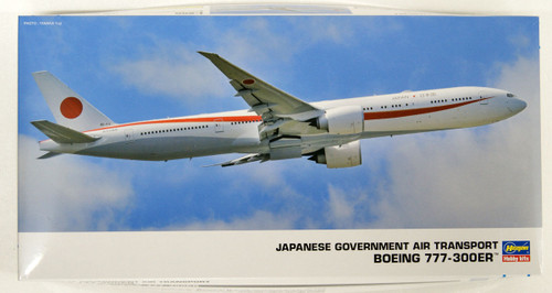 Hasegawa 23 Japanese Government Air Transport BOEING 777-300ER 1/200 Scale kit