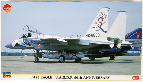 Hasegawa 00764 JASDF F-15J Eagle 50th Anniversary Special Paint 1/72 Scale Kit