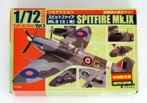 F-toys Full Action Spitfire Mk9 1/72 Scale 1 PC.