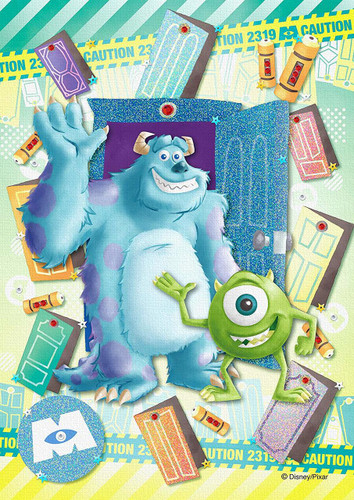 Epoch Jigsaw Puzzle Decoration 72-014 Disney Monsters, Inc. -Beyond the Door- (108 Pieces)