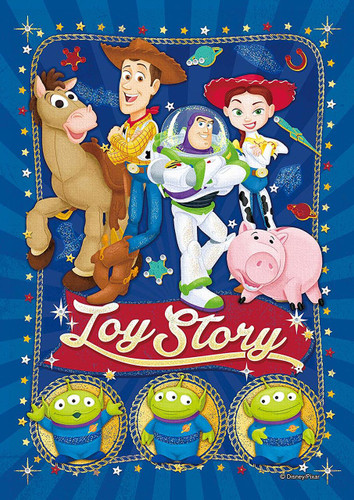 Epoch Jigsaw Puzzle Decoration 72-013 Disney Toy Story Enjoy Playtime (108 Pieces)