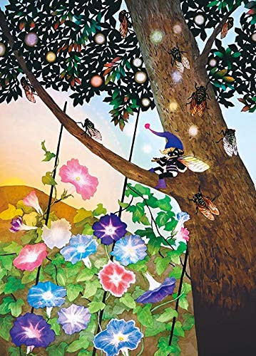 APPLEONE Jigsaw 500-261 Seiji Fujishiro Morning Glory (500 Pieces)