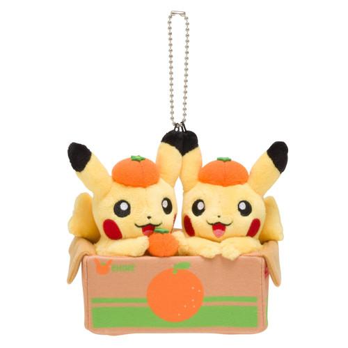 Pokemon Center Original Mascot Pair Pikachu Ehime Mikan
