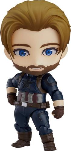 Good Smile Nendoroid 923-DX Captain America: Infinity Edition DX Ver. (Avengers: Infinity War)
