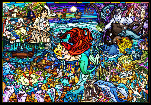 Tenyo Japan Jigsaw Puzzle DP1000-033 Disney The Little Mermaid Story (1000 Pieces)