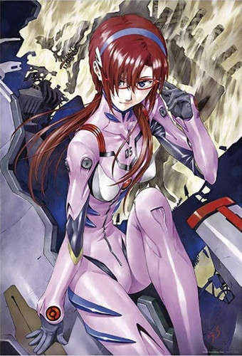 Yanoman Jigsaw Puzzle 10-1339 Mari Illustrious Makinami Plugsuit (1000 Pieces)