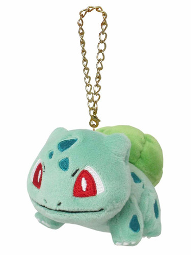San-ei PM01 Pokemon All Star Collection Mascot Bulbasaur (Fushigidane) TJN