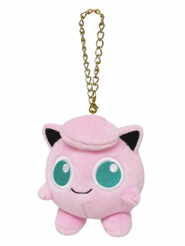 San-ei PM05 Pokemon All Star Collection Mascot Jigglypuff (Purin) TJN