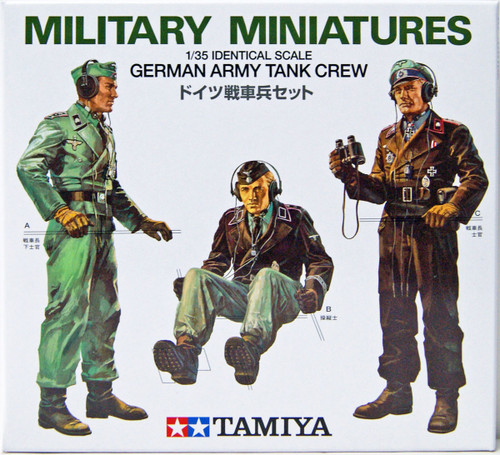 Tamiya 35001 German Army Tank Crew 1/35 scale kit