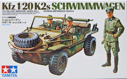 Tamiya 35003 German Schwimmwagen Amphibious Vehicle 1/35 scale kit