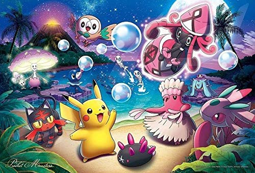 Ensky Jigsaw Puzzle 108-L729 Pokmon Moonlight (108 L-Pieces)
