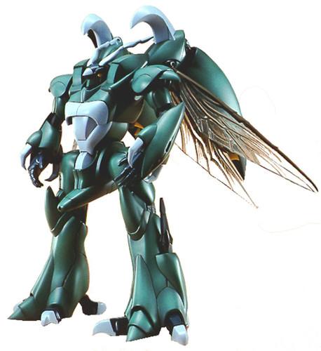Bandai Aura Battler Tod Wryneck 1/72 Scale Kit