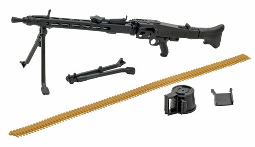 Tomytec LA027 Military Series Little Armory MG3 Type 1/12 Scale Plastic Model Kit