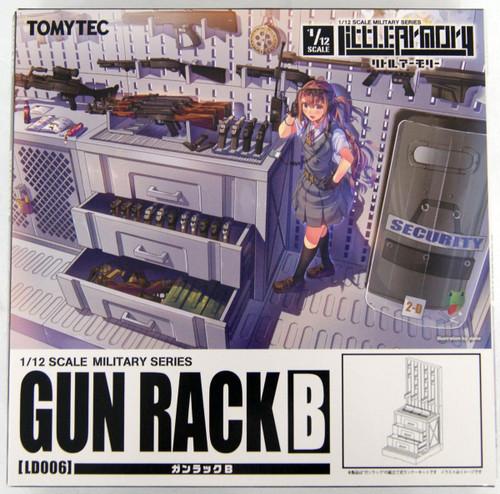 Tomytec LD006 Military Series Little Armory Gun Rack B 1/12 Kit