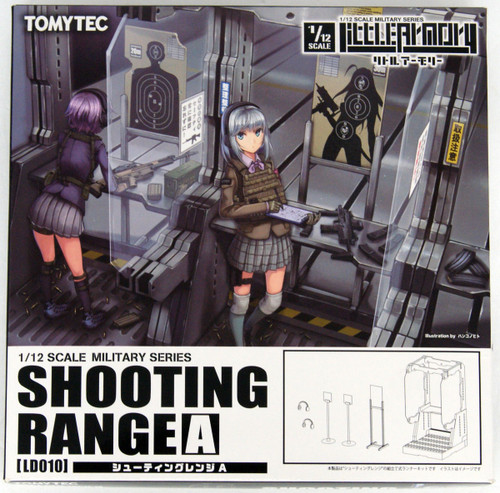 Tomytec LD010 Military Series Little Armory Shooting Range A 1/12 Kit