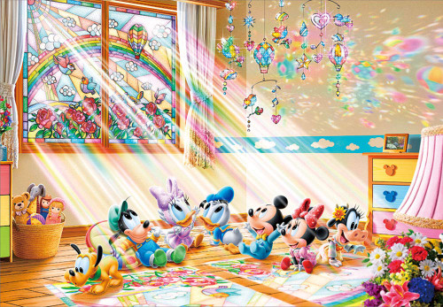 Tenyo Japan Jigsaw Puzzle D1000-498 Disney The Gift of the Sun (1000 Pieces)