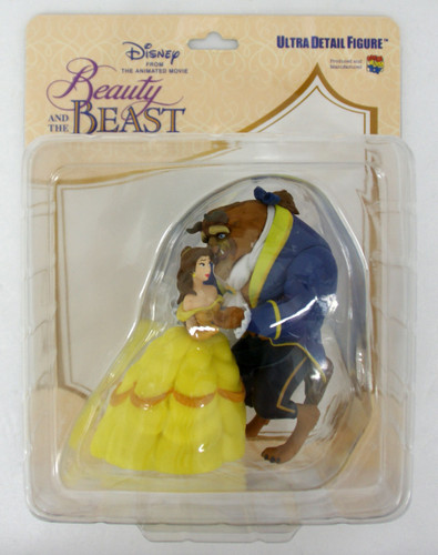 Medicom UDF-451 Ultra Detail Figure Studio Disney Series 7 Belle & Beast