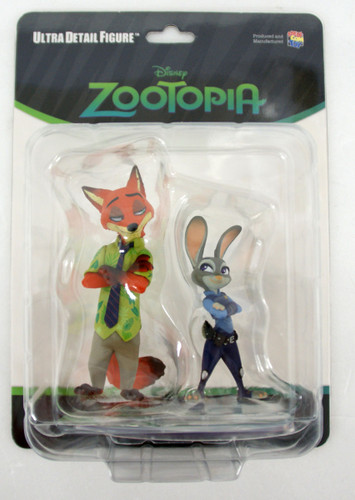 Medicom UDF-452 Ultra Detail Figure Studio Disney Series 7 Zootopia Judy Hopps & Nick Wilde