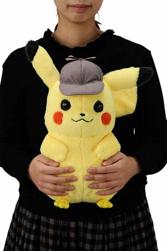 Takara Tomy Pokemon Detective Pikachu 1/1 Scale Plush Doll