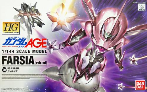 Bandai Gundam HG AGE-20 FARSIA (xvb-xd) 1/144 Scale Kit