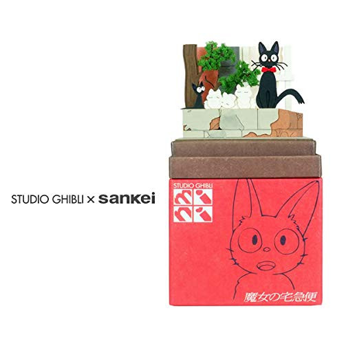 Sankei MP07-94 Studio Ghibli Jiji & Kittens Kiki's Delivery Service Non-Scale