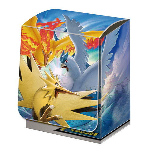 Pokemon Card Game Deck Case Moltres & Zapdos & Articuno