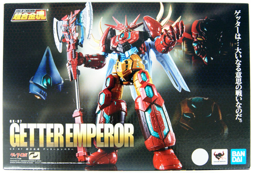Bandai Soul Of Chogokin GX-87 Getter Emperor Figure