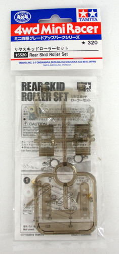 Tamiya 15520 Mini 4WD Rear Skid Roller Set