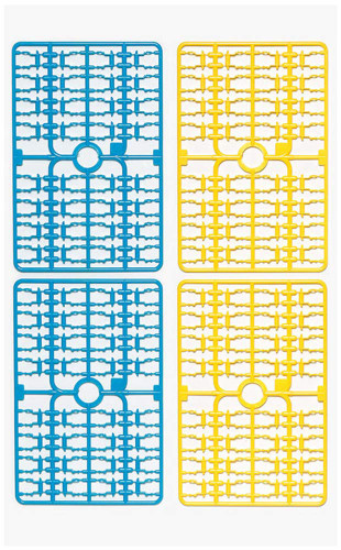 Tamiya 69925 Ladder-Chain (Blue/ Yellow) & Sprocket (White) Set