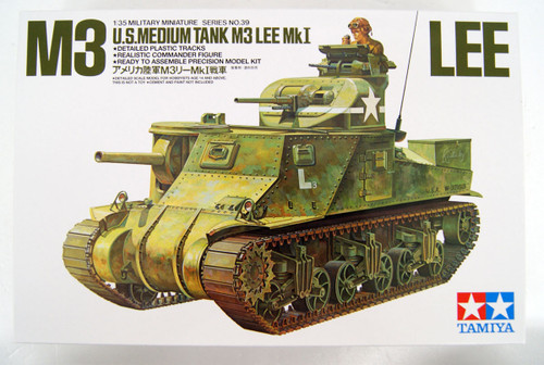 Tamiya 35039 US Medium Tank M3 Lee MkI 1/35 scale kit