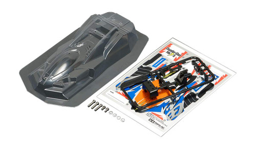 Tamiya 95444 Mini 4WD THUNDER SHOT MKII Clear Body Set
