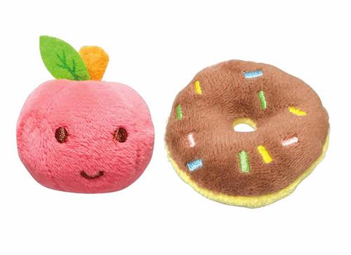 Kawada YF-014 Yume Fuwa Town Plush Doll Apple & Doughnuts
