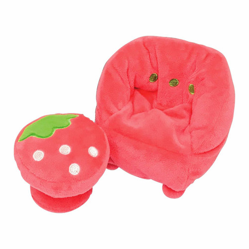 Kawada YF-018 Yume Fuwa Town Plush Doll Strawberry Sofa
