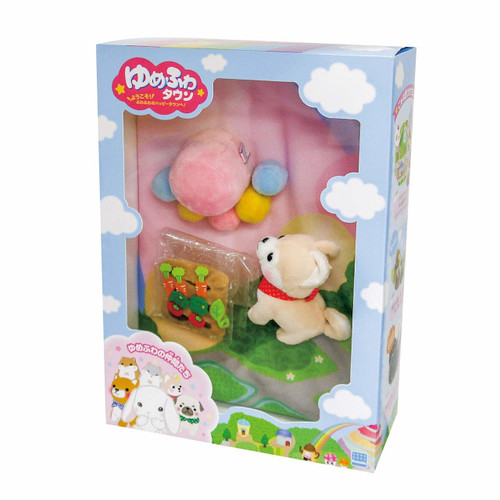 Kawada YF-022 Yume Fuwa Town Plush Doll Marshmallow Mountain & Vegetable Set