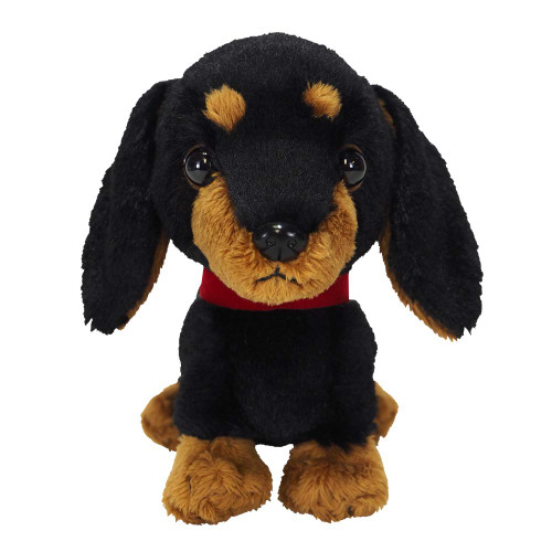 Sunlemon Plush Doll Pups! Miniature Dachshund (BK) S TJN