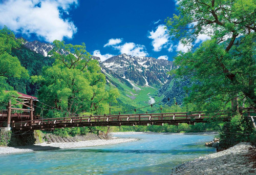 Epoch Jigsaw Puzzle 25-172 Kappa Bridge and Clear Stream Nagano (300 Pieces)