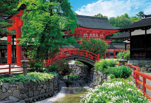 Epoch Jigsaw Puzzle 31-014 Kyoto's Cultural Property II - Shimogamo Shrine (1053 Small Pieces)