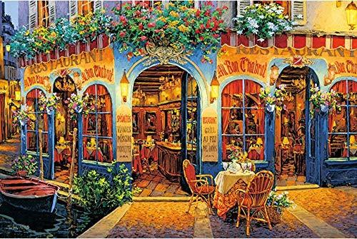 APPLEONE Jigsaw Puzzle 1000-835 Viktor Shvaiko Restaurant Chabloz (1000 Pieces)