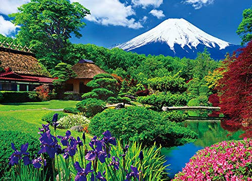 Beverly Jigsaw Puzzle 66-117 Oshino & Mt. Fuji Japan (600 Pieces)