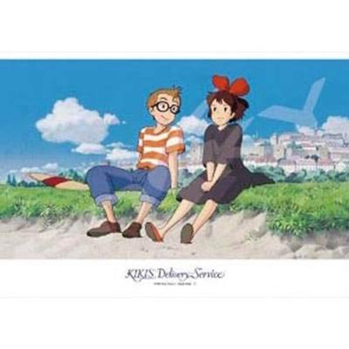 Ensky Jigsaw Puzzle 108-415 Kiki's Delivery Service Talking at Seaside (108 Pieces)