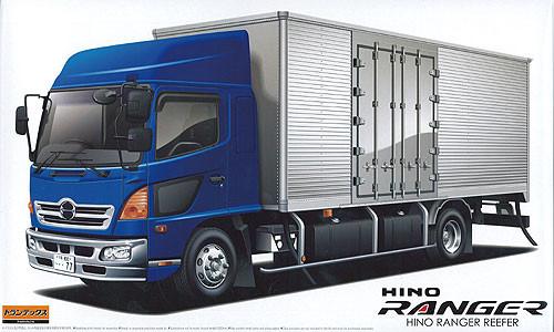 Aoshima 50491 Hino Ranger Truck Reefer 1/32 Scale Kit