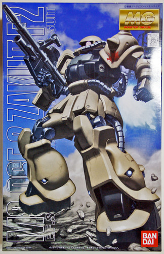 Bandai MG 137814 Gundam MS-06F2 ZAKU II F2 1/100 Scale Kit