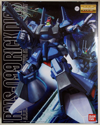 Bandai MG 253002 Gundam Rick Dias 1/100 Scale Kit
